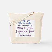 Plant Tree - Impeach Bush Tote Bag