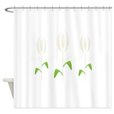 Funny Back logo Shower Curtain