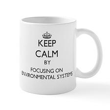 Keep calm by focusing on Environmental Systems Mug