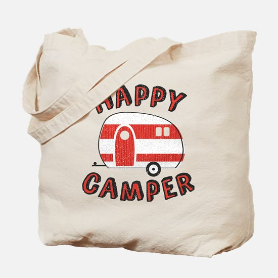 Funny Camping trailers Tote Bag