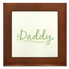 I am Daddy Framed Tile