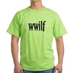 wwilf  Green T-Shirt