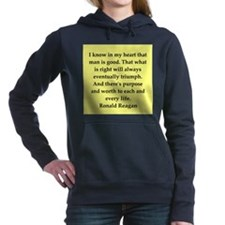 reagan55.png Women's Hooded Sweatshirt