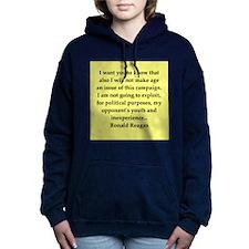 reagan24.png Women's Hooded Sweatshirt