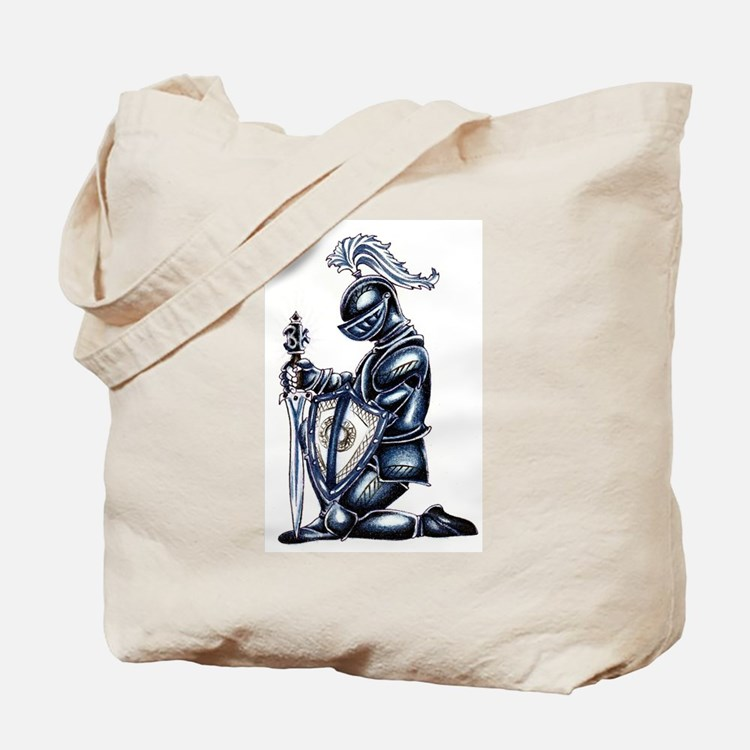 Cute Knight Tote Bag