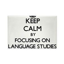 Keep calm by focusing on Language Studies Magnets