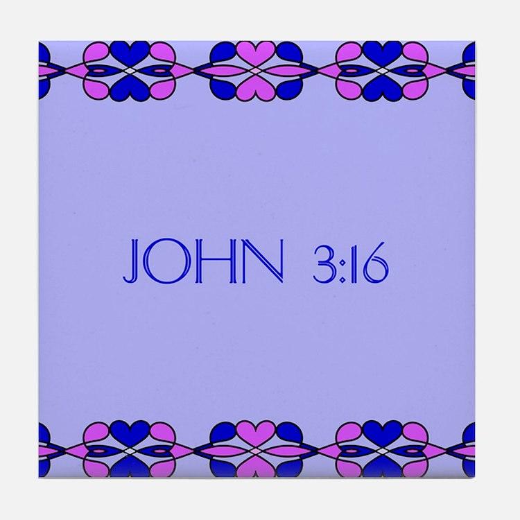 Cute Verses Tile Coaster
