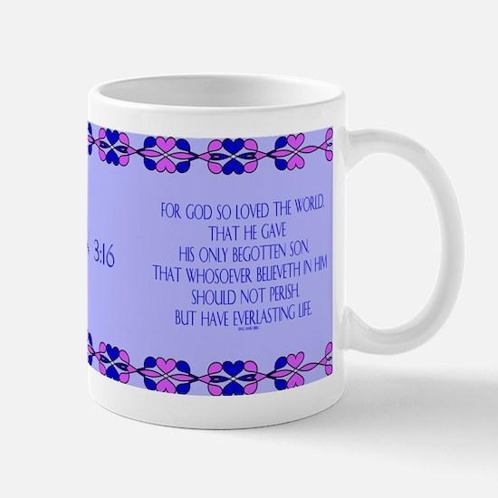 John 3:16 Bible Verse Mugs