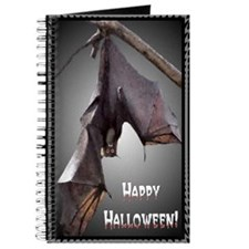 ...Halloween Bat... Journal