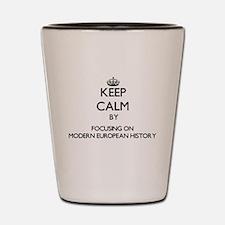 Unique Keep calm carry Shot Glass