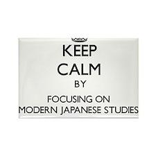 Keep calm by focusing on Modern Japanese Studies M