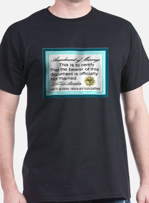 Annulment of Marriage T-Shirt