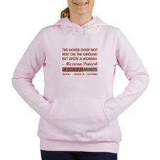 THE HOUSE DOES NOT Women's Hooded Sweatshirt