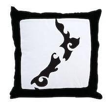 Cute New zealand Throw Pillow
