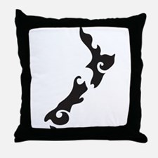 Unique Aotearoa Throw Pillow