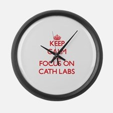 Unique Cath lab Large Wall Clock