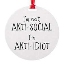 Anti-Idiot Ornament