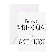 Anti-Idiot Greeting Cards