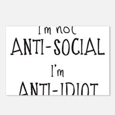 Anti-Idiot Postcards (Package of 8)