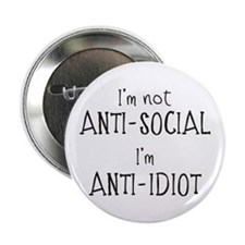 """Anti-Idiot 2.25"""" Button"""
