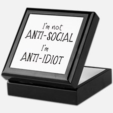 Anti-Idiot Keepsake Box