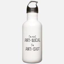 Anti-Idiot Sports Water Bottle