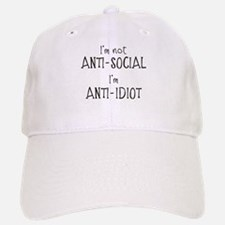 Anti-Idiot Baseball Baseball Cap