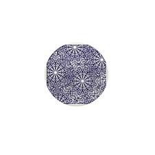 Funny Classic snowflake Mini Button