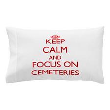 Cute Cemetery hill Pillow Case