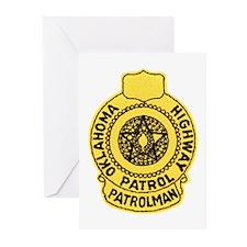 Oklahoma Highway Patrol Greeting Cards (Package of