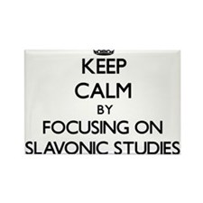 Keep calm by focusing on Slavonic Studies Magnets