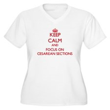 Keep Calm and focus on Cesarean Sections Plus Size