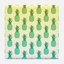 Pineapple Pattern Tile Coaster