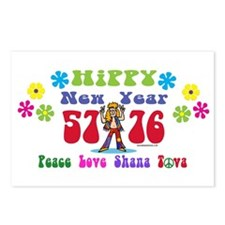 Hippy New Year 5776 Postcards (package Of 8)