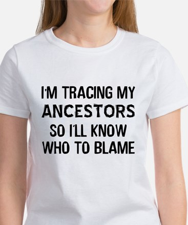 Funny Genealogy Women's T-Shirt