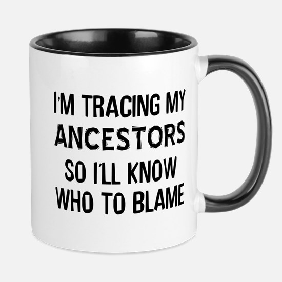 Funny Genealogy Mug