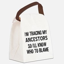 Funny Genealogy Canvas Lunch Bag