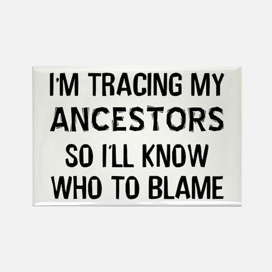 Funny Genealogy Rectangle Magnet