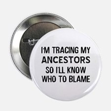 "Funny Genealogy 2.25"" Button"