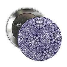 """Unique Classic snowflake 2.25"""" Button"""