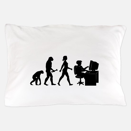 Desk Evolution Pillow Case