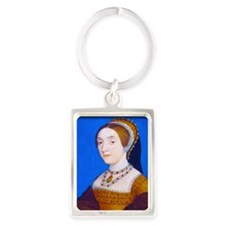 Catherine (or Kathryn) Howard Portrait Keychain