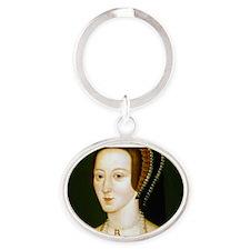 Anne Boelyn Oval Keychain