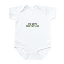 how about them vegetables Infant Bodysuit