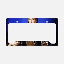 Bronzino - Eleonora di Toledo License Plate Holder