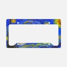van Gogh: The Starry Night License Plate Holder