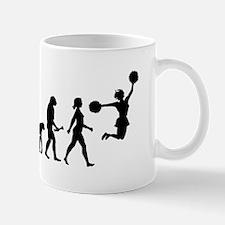 Cheerleader Evolution Mugs