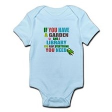 If you have a garden and a Library Body Suit