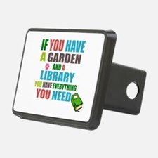 If you have a garden and a Library Hitch Cover