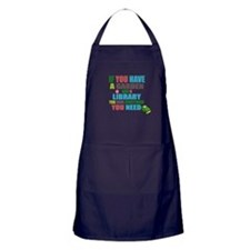 If you have a garden and a Library Apron (dark)
